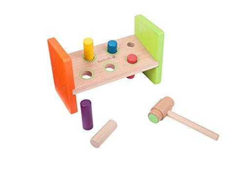 EverEarth - Banco de madera para golpear (EE33730) , Modelos/colores Surtidos, 1 Unidad