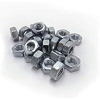20tuercas hexagonales M10–Din 934–Acero galvanizado
