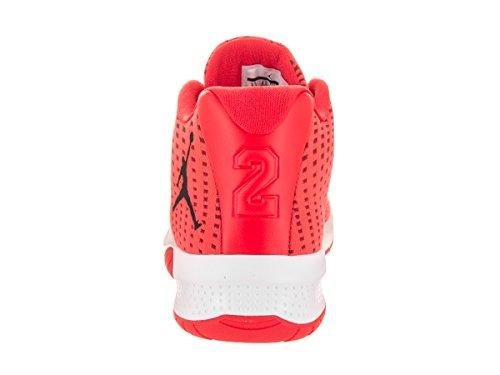 Nike Jordan B Fly, Chaussures de Basketball Homme MAX ORANGE/BLACK-GYM RED-W
