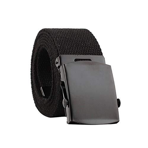 Firally Hot sale CinturaUomini Donne Automatico Moda Nylon Cintura Fibbia Fan Tela Cintura Elastica Dimensioni Regolabili