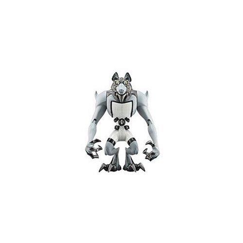 Bandai - Ben 10 - BenLoup-Garou (Benwolf) - Figurine 10 cm (Import Royaume Uni)