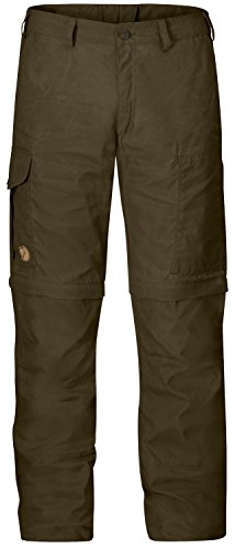 Fjällräven Karl Pro Zip-Off Trousers Shorts Herren Hose, Dark Olive, 24
