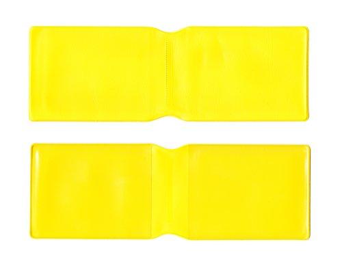 Gelb Kunststoff Oyster Card Wallet Abdeckung/Halterung/
