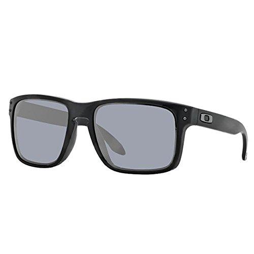 Preisvergleich Produktbild Oakley Holbrook Sonnenbrille Polished Black/Grey Polarized Einheitsgröße