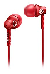 Philips she8100 In-Ear Headphones (RED)