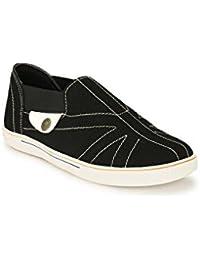Big Fox Men's Loafers, Black Blue