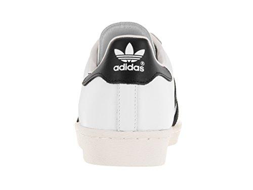 Adidas Herren SUPERSTAR 80S Originals CASUAL Schuh Wht/Black1/Chalk2