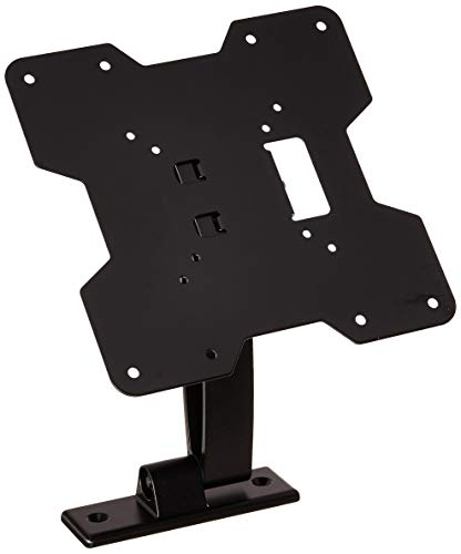 Monoprice Titan Series Swivel Single Arm Wall Mount for Small 20-42 Inch TVs Displays, Max 80 LBS. 75x75 to 200x200, Black