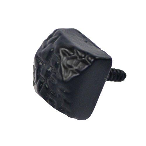 Nuvo ferro antico mano Craft coloniale chiodi a testa quadrata porta Decor Ferro perno (10pcs)