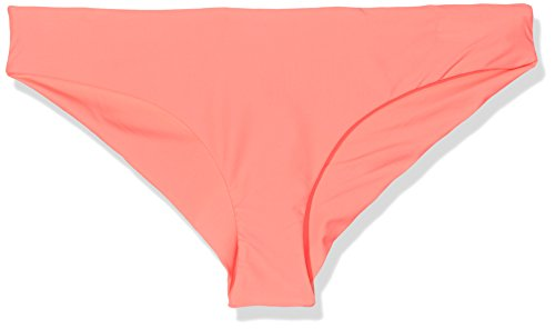 Solid Hipster Bottom (O'Neill Damen PW Solid Hipster Bikini Bottom, Neon Tangerine Pink, 38, 608578-3350)