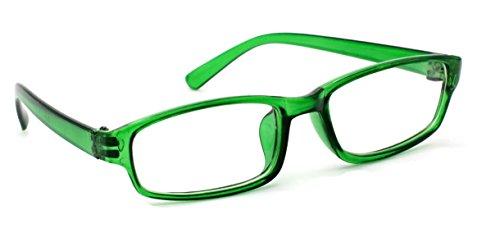 4sold Slim Damen Herren Lesebrille Blaufilterbrille Blaues Licht und UV Schutzbrille Bildschirmbrille fortgeschrittene Gamer Gamingbrille Computerbrille Black