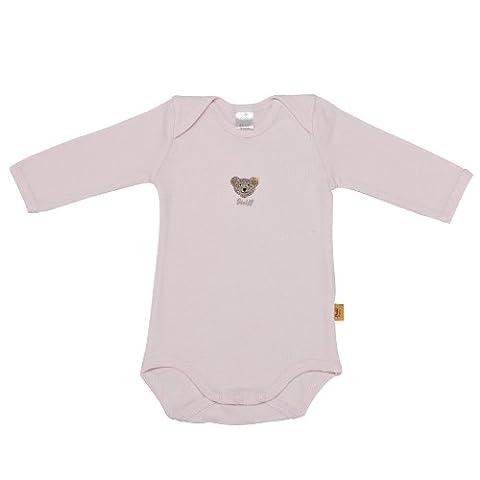 Steiff - 0008502 Bodysuit 1/1 Sleeves - Corps Mixte, rose bonbon (hellrosa), 50