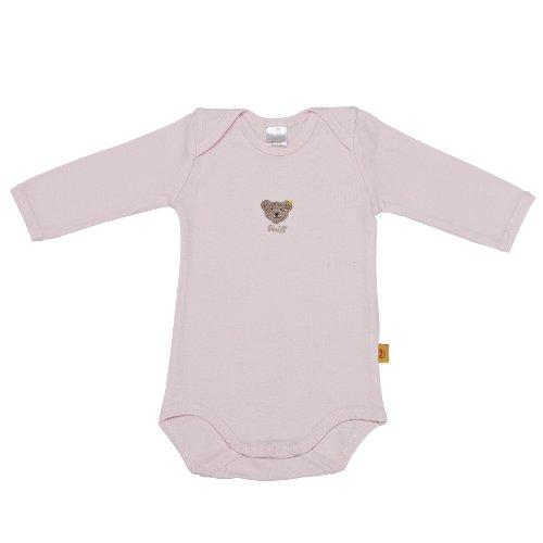 Steiff Unisex - Baby Body 0008502, Gr. 62, Rosa (barely pink 2560)