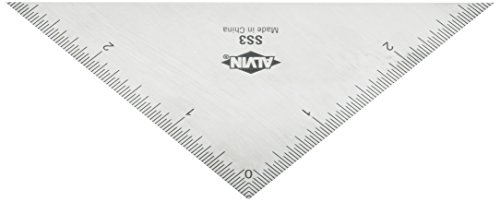 Alvin 3 Triangle Stainless Steel Ruler by Alvin