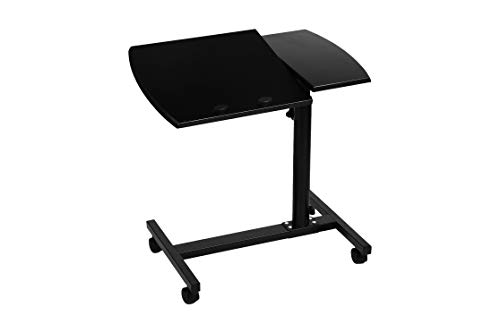 Urbancart Adjustable and Portable Laptop Stand/Rolling Desk with Mouse Pad