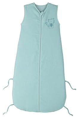 PMP-Saco de dormir para bebé 90-110 cm, diseño de bordado de 6 a 36 meses, color azul
