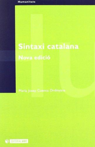 Sintaxi catalana por Maria Josep Cuenca Ordinyana