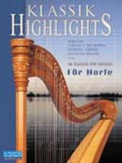 KLASSIK HIGHLIGHTS - arrangiert für Harfe - (Hackbrett) - mit CD [Noten / Sheetmusic]