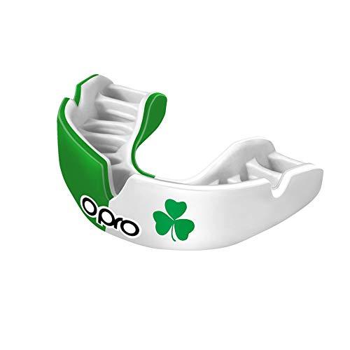 Opro Power-Fit   Protège-Dents Fait Main Adulte   Bouclier de Gomme pour Le Rugby, Le Hockey, MMA (10 Ans et Plus) (Irlande)