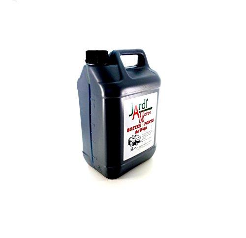 Olio professionale per trasmissione 80W90 GL5 Jardiaffaires 5 litri