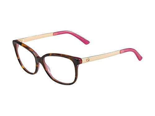 Gucci Brillen Für Frau 3701 H4V, Tortoise / Gold / Pink Gestell aus Metall und Kunststoff