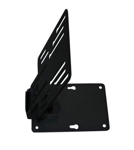 TV Deckenhalterung Unterbau Deckenhalterung klappbar in schwarz bis 23 Zoll zbsp. für Wohnmobil, Wohnwagen, Küche, Dachschräge