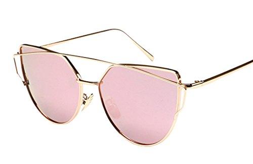 JYR Mujeres Charmming Moderno espejo de la manera gafas de sol polariz