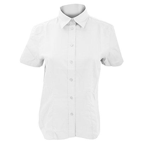 Kustom Kit - Camicia Maniche Corte - Donna Rosa