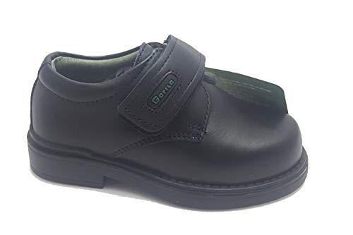 Zapato Colegial Marca Gorila Color Marino T25