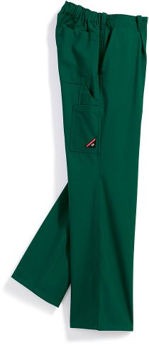PANTALONES DE TRABAJO BP WORKWEAR 1469 COTTON PLUS MEDIO VERDE GR 44 – 64  90 – 114