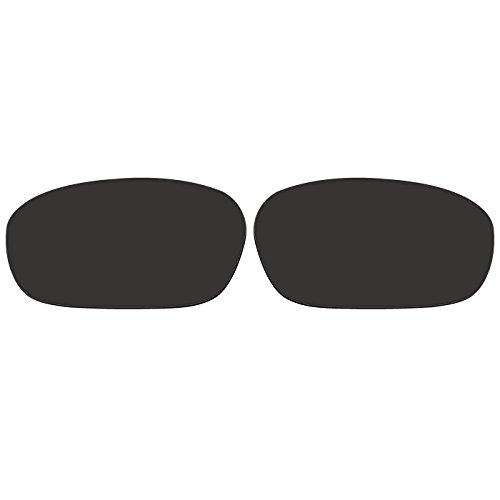 Acompatible Ersatzgläser für Oakley Jawbone Sonnenbrille, Black - Polarized, S