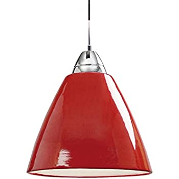 NORDLUX Read Indoor Ceiling Pendant Light, Metal, Red, E14