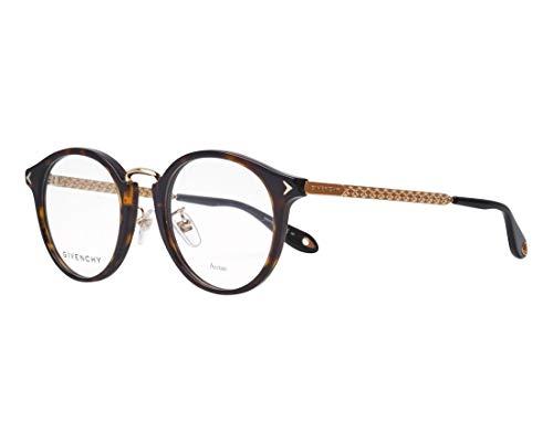 Givenchy Brille (GV-0088-F 086) Acetate Kunststoff - Metall dunkel havana - metalisiert gold