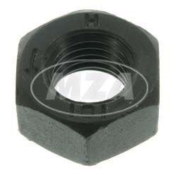 Preisvergleich Produktbild Mutter - Sechskantmutter M8 x 1-8 (DIN 934) - Linksgewinde, Feingewinde - schwarz