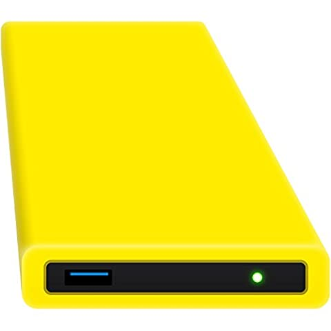 HipDisk GL 250GB SSD Externe Festplatte (6,4 cm (2,5 Zoll), USB 3.0) tragbare portable mit austauschbarer Silikon-Schutzhülle stoßfest wasserabweisend
