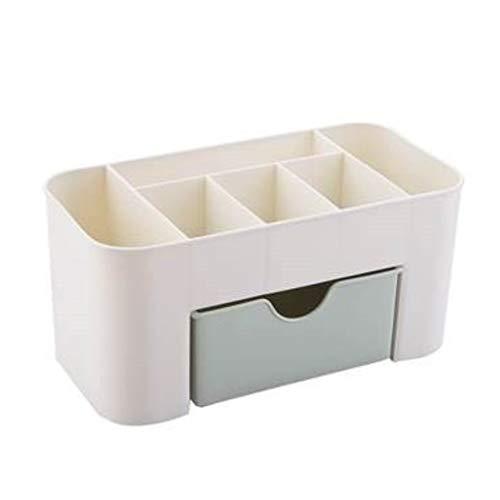 Sammlung Mit Sechs Schubladen (BlackEdragon Plain Color Plastic Desktop Kosmetik-Etui mit kleinen Schubladen Aufbewahrungsbox Home Multifunktions-Schmuck-Box Aufbewahrungsbox)