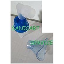 Repuestos en aerosol: oferta que consiste en 1 ampolla y+ 1 máscara pediátrica.