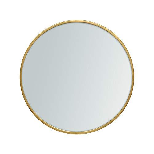 YHH-Mirror Badezimmerspiegel Gold Runde Spiegel Make-Up-Spiegel Rund Um Dekorative Spiegel Bad Wand Hängenden Spiegel,70Cm