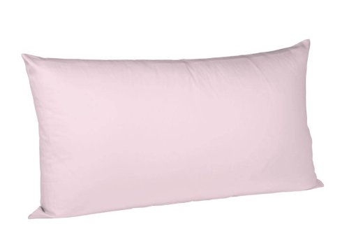 Fleuresse Interlock Jersey Kissenbezug rosé, 40 x 80 cm