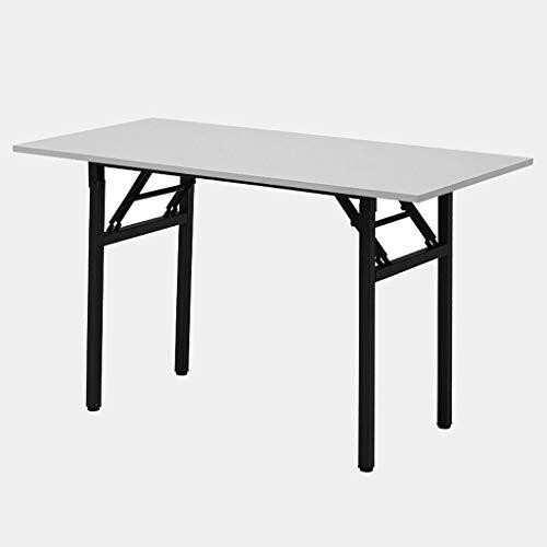 Computertisch Schreibtisch Schreibtisch Klapptisch Konferenztisch (Farbe : Weiß)