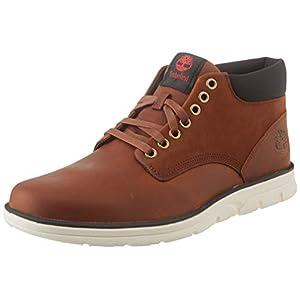 Timberland Men's Bradstreet Leather Sensorflex Chukka Boots, Md Brown Full Grain, 10 UK