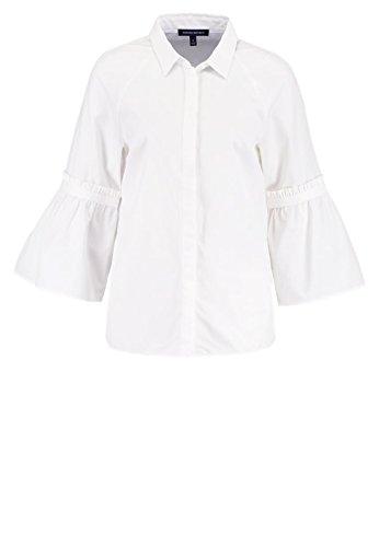 Damen Hemd Bluse 590730 Jordan Rüschen Ärmel Gr.M ¾ Ärmel (Shirt Damen Republic Banana)