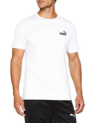 PUMA Herren ESS S Logo Tee T-Shirt, Schwarz (Cotton Black_Cat), ()