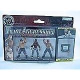 WWE MICRO AGGRESSION FIGURES-The Mizz,Elijah,Boogeyman by Jakks Pacific