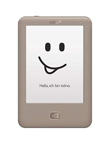 Tolino Page lectore e-Book Pantalla táctil 4 GB WiFi