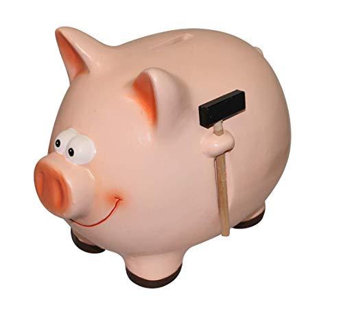 Cerdito rosa, ahorrar dinero facilidad hucha cerámica