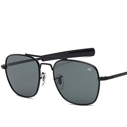 2THTHT2 Mode Luftfahrt Sonnenbrille Männer Sonnenbrille Für Männlich American Army Military Optische Glaslinse