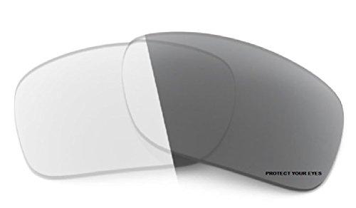 MZM Ersatzgläser für Oakley Flak 2.0 XL (wählen Sie die Farbe) (PhotoChromic- Grey)
