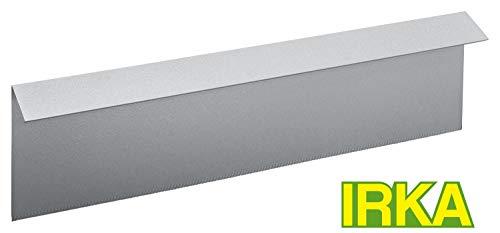 IRKA Schneckenzaun Typ 2, 25 cm hoch, 100 cm lang mit einzigartiger Versteifungskante