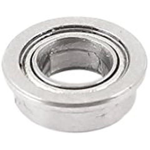 8 mm x 4 mm x 2,4 mm miniatura con bridas de rodamientos a bolas F674 Reemplazo